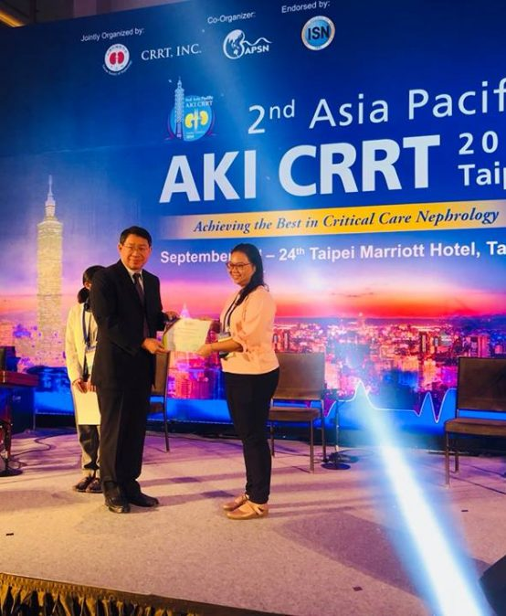 2nd Asia Pacific Acute Kidney Injury and Continuous Renal Replacement Therapy Conference 2018